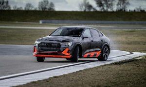 Audi e-tron S Sportback drift