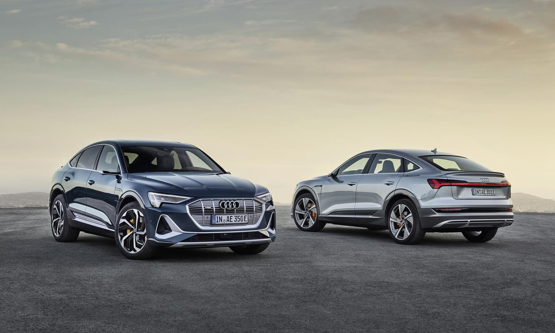 Audi e-tron Sportback delantera y trasera