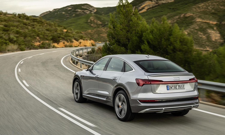 Audi e-tron Sportback dinámica