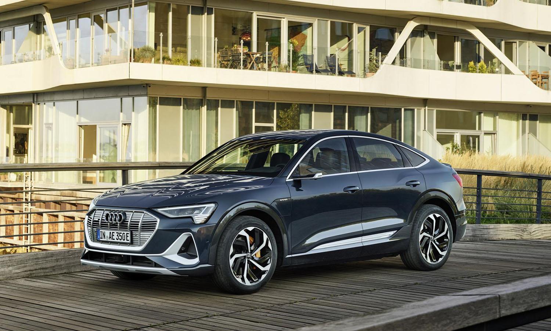 Audi e-tron Sportback lateral