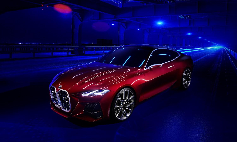 BMW Concept i4 tendrá toques de diseño similares el del Concept 4