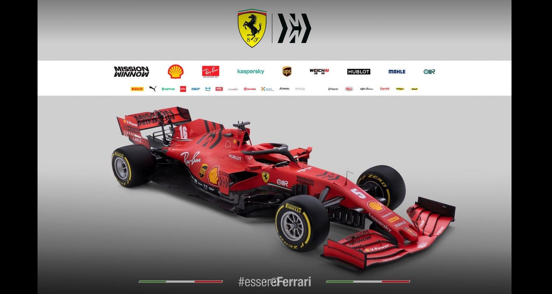 Ferrari SF-1000 lateral pontones