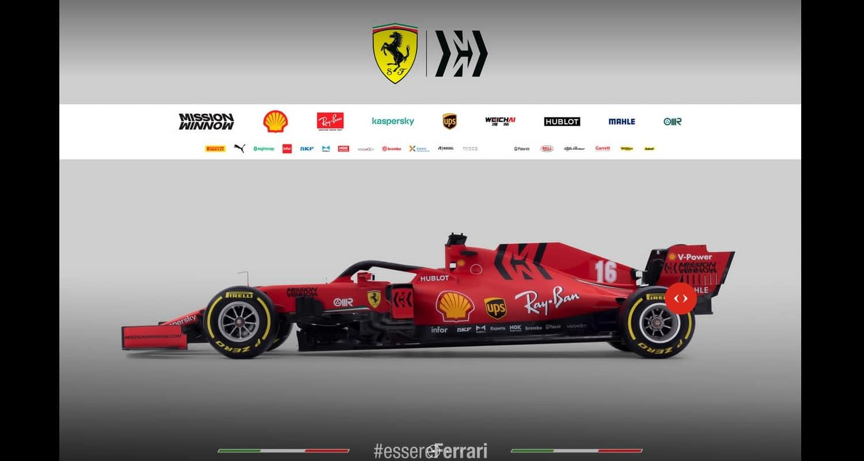 Ferrari SF-1000 lateral