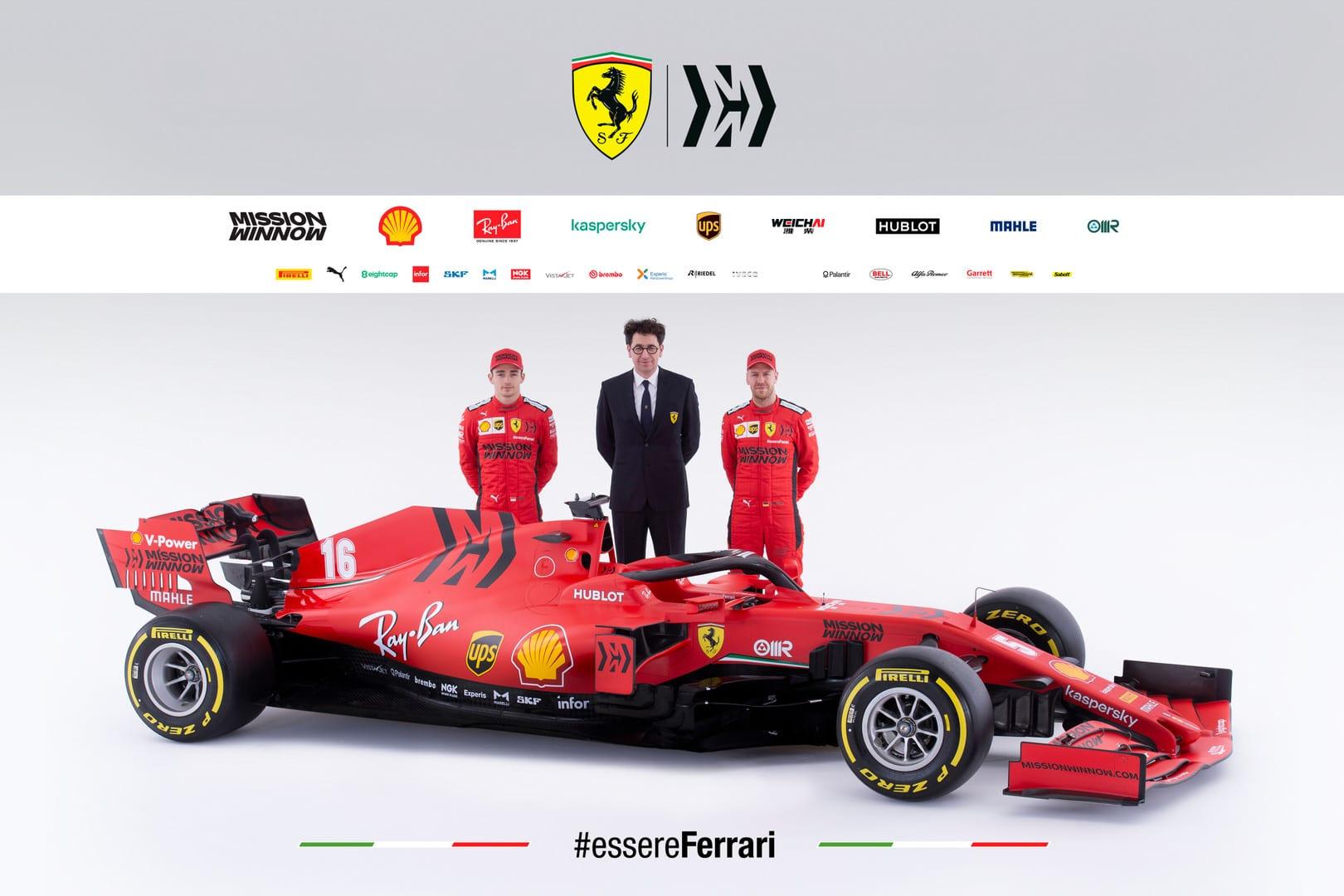 Ferrari SF-1000 portada