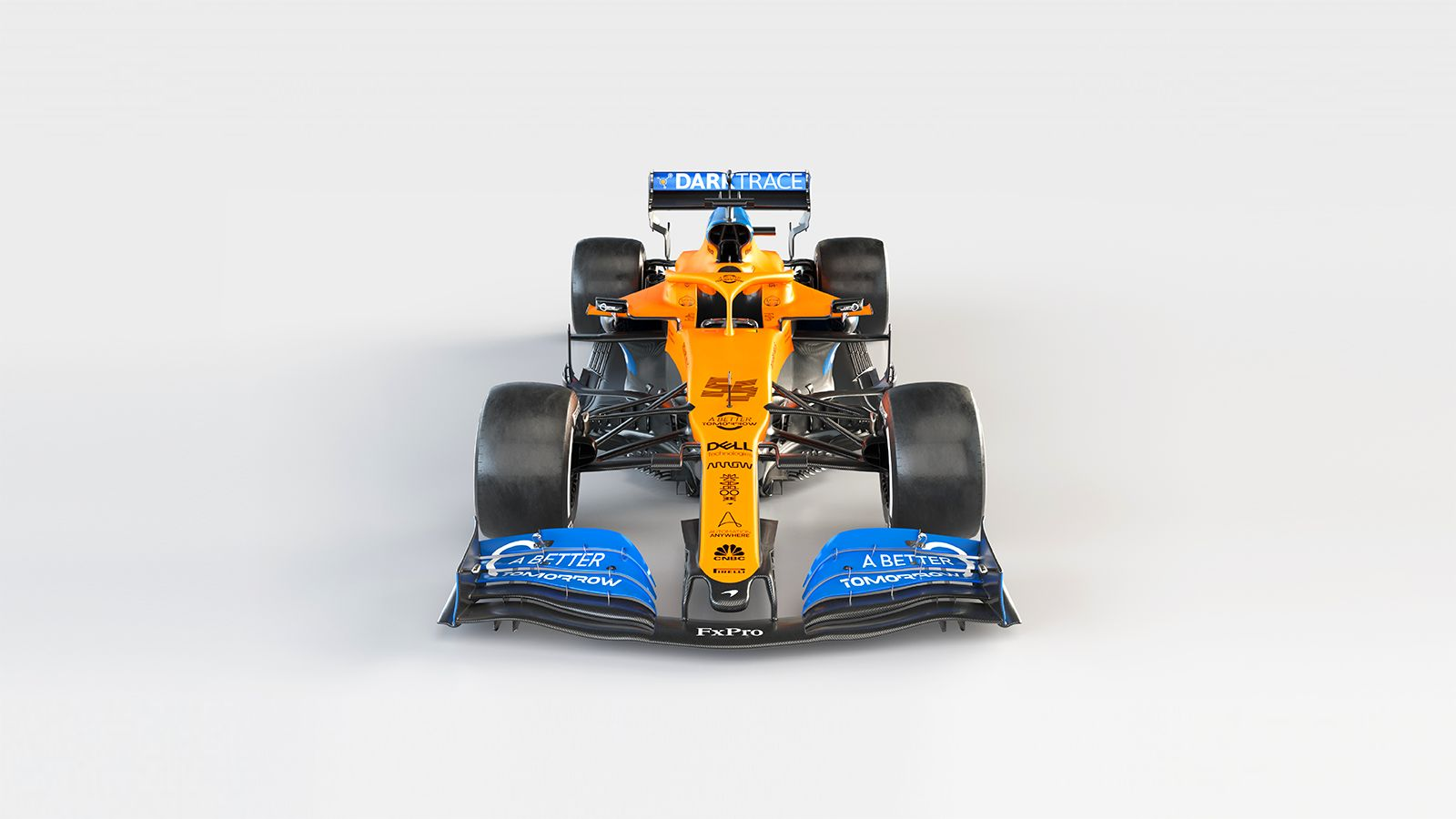 McLaren MCL35 arriba portada