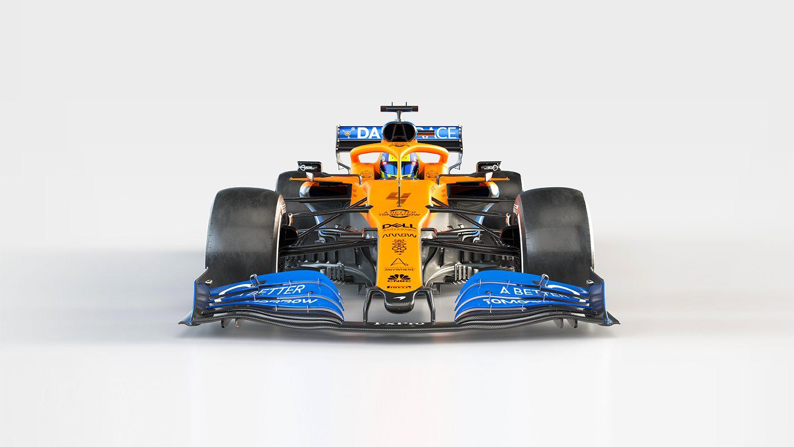 McLaren MCL35 frontal