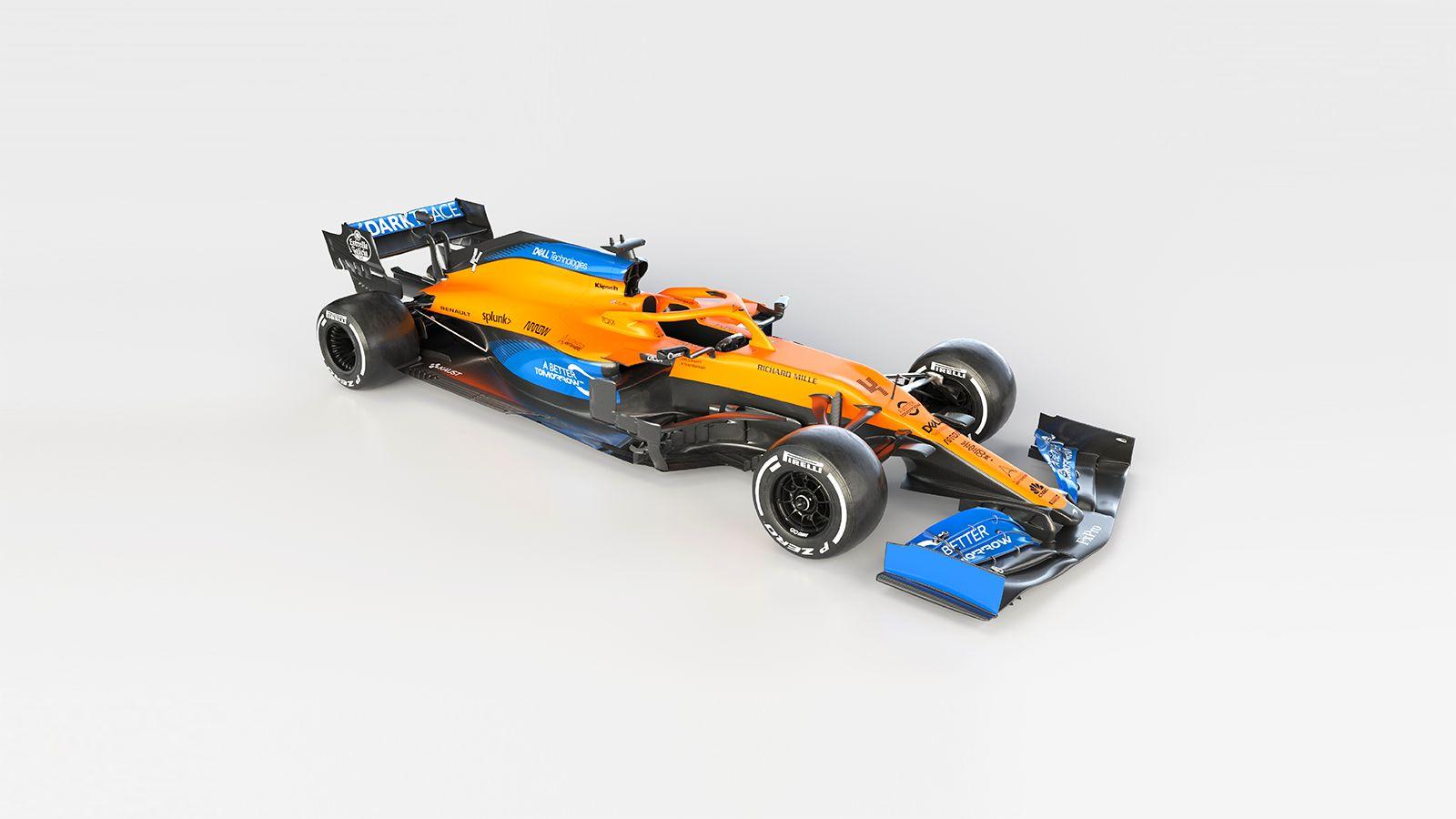 McLaren MCL35 portada lateral