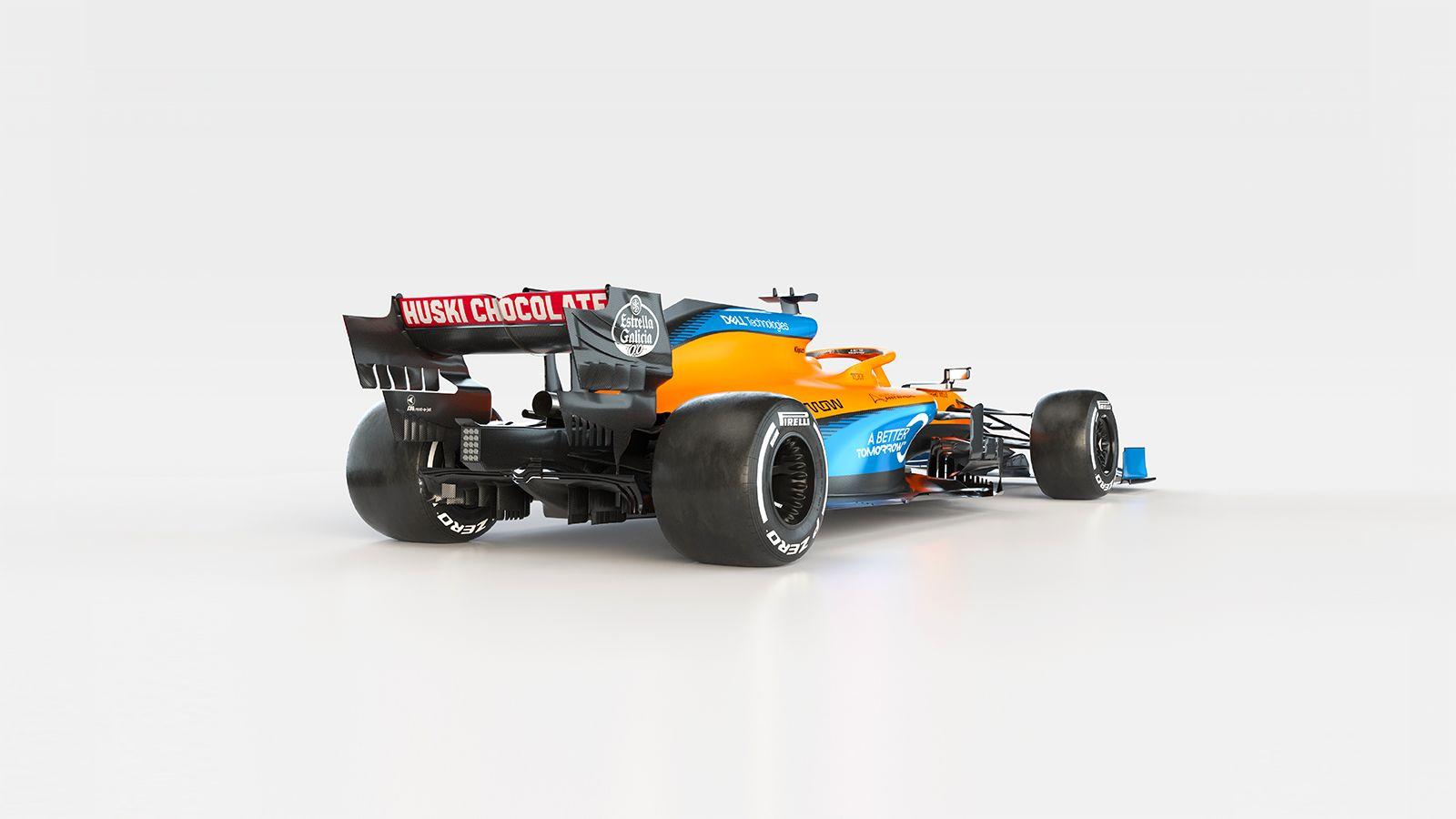McLaren MCL35 trasera