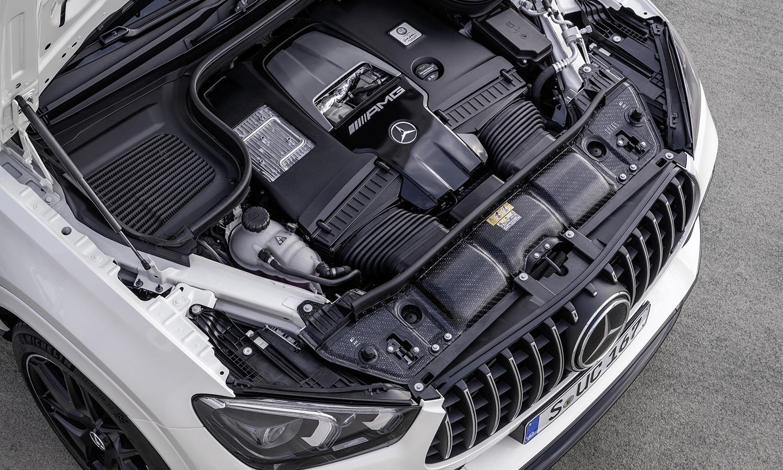 Motor V8 Mercedes-AMG GLE 63 S Coupé