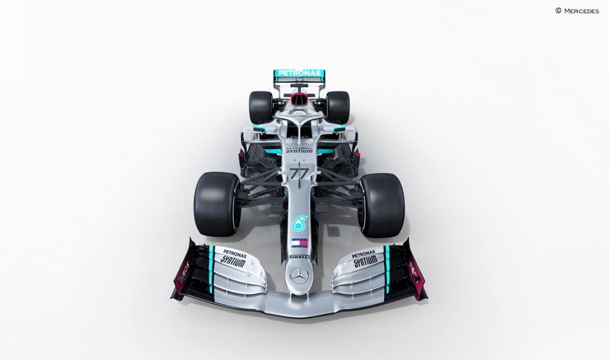 Frontal de Mercedes W11