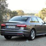 Prueba Audi A4 TFSI 150 CV perfil trasero