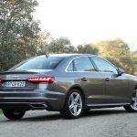 Prueba Audi A4 35 TFSI 150 CV perfil trasero