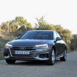 Prueba Audi A4 gasolina TFSI 150 CV frontal