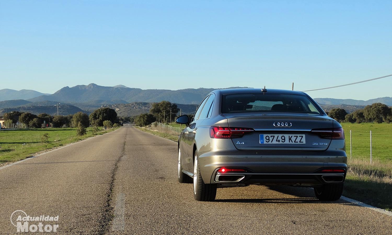 Prueba Audi A4 35 TFSI 150 CV parte trasera