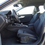 Prueba Audi A4 plazas delanteras