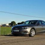 Prueba Audi A4 perfil delantero