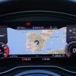 Prueba Audi A4 cuadro de instrumentos digital con navegación