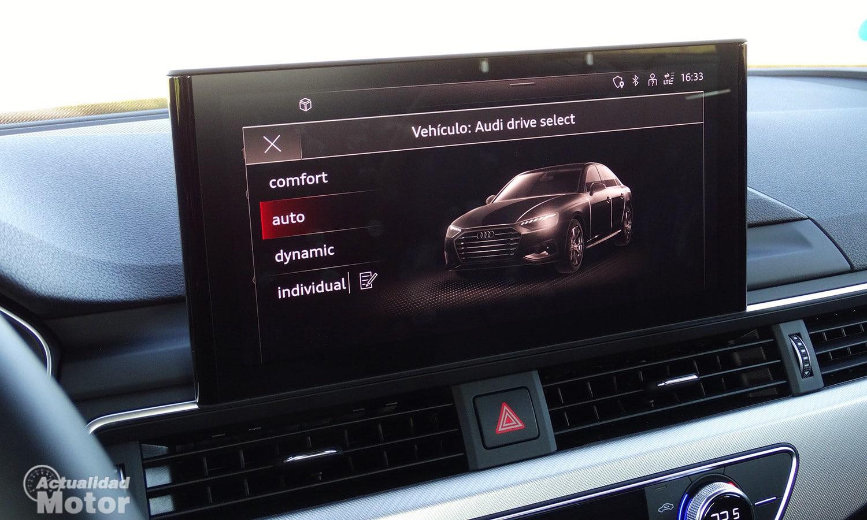 Audi Drive Select en Audi A4
