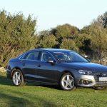 Prueba Audi A4 gasolina 150 CV perfil
