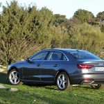 Prueba Audi A4 2.0 TFSI 150 CV perfil trasero