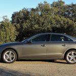 Prueba Audi A4 lateral