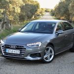 Prueba Audi A4 delantera
