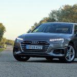 Prueba Audi A4 TSI 150 CV automático frontal