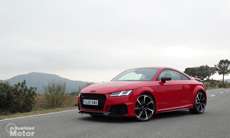 Prueba dinámica Audi TT RS