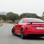 Prueba Audi TT RS parte trasera