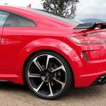 Parte trasera del Audi TT RS 2020