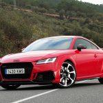 Prueba Audi TT RS perfil delantero
