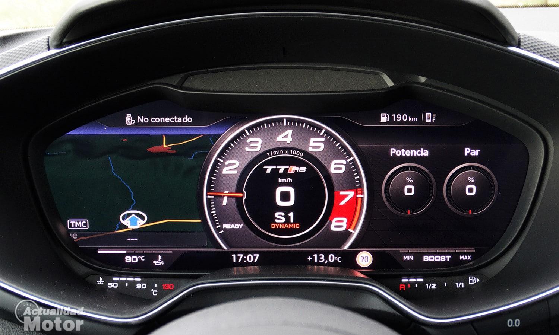 Cuadro de instrumentos digital Audi TT RS