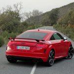 Comportamiento dinámico Audi TT RS 400 CV