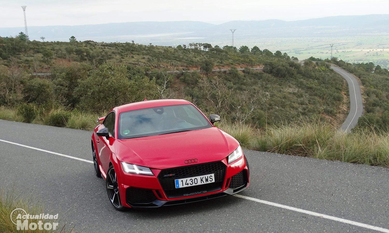 Prueba Audi TT RS