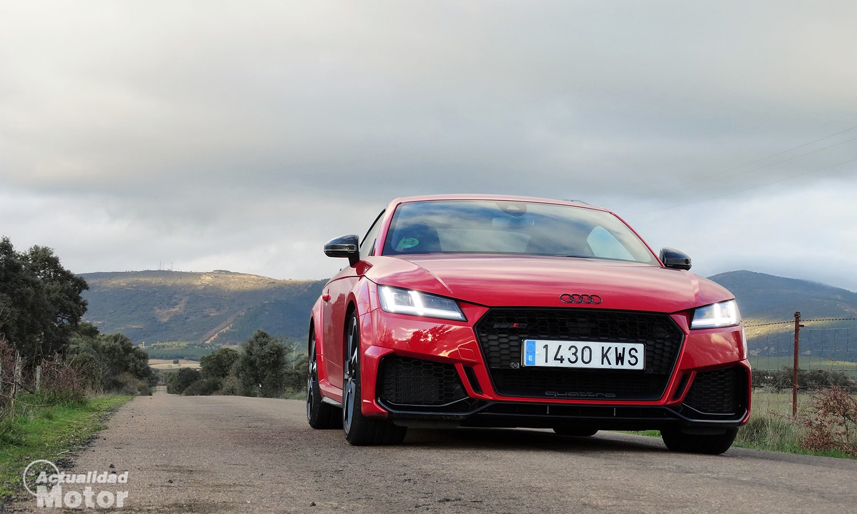 Prueba Audi TT RS parte delantera