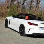 Prueba BMW Z4 perfil trasero descapotado
