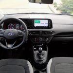 Prueba Hyundai i10 salpicadero