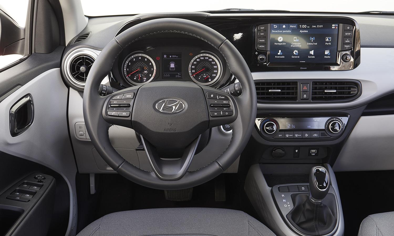 Diseño interior del Hyundai i10 2020