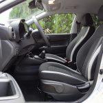 Prueba Hyundai i10 asientos delanteros