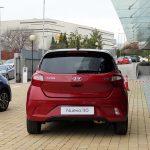 Prueba Hyundai i10 parte trasera