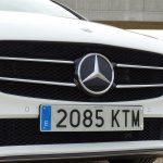 Prueba Mercedes Clase B diésel 150 CV parrilla frontal