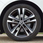 Llantas de aleación opcionales del Mercedes Clase B