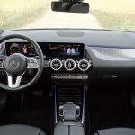 Diseño salpicadero del Mercedes Clase B