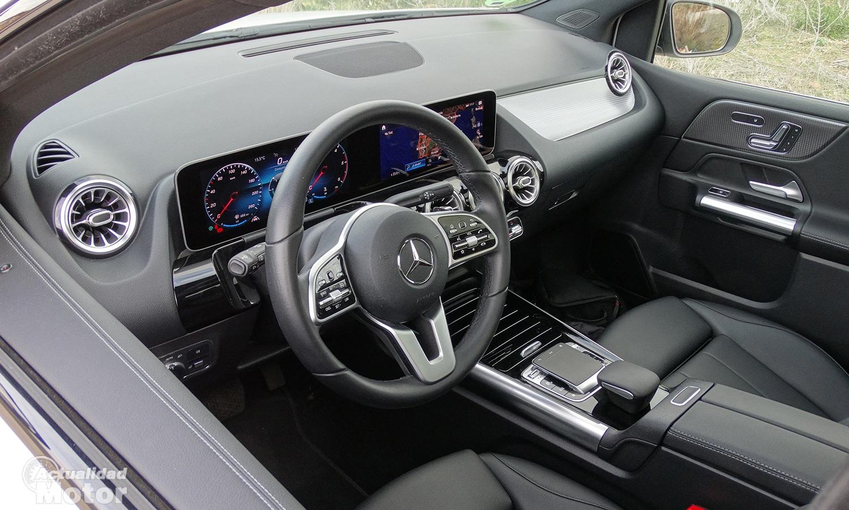 Prueba Mercedes Clase B interior