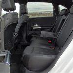 Prueba plazas traseras del Mercedes Clase B
