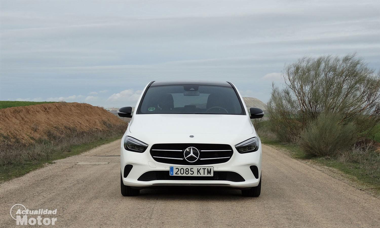 Prueba Mercedes Clase B frontal