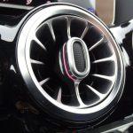Salidas de aire iluminadas de Mercedes