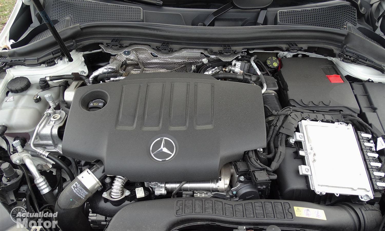 Motor del Mercedes Clase B 200d