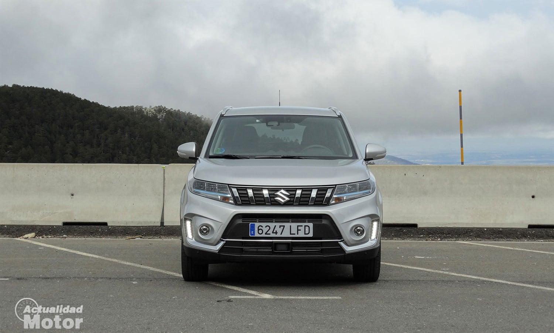 Prueba Suzuki Vitara 2020 frontal