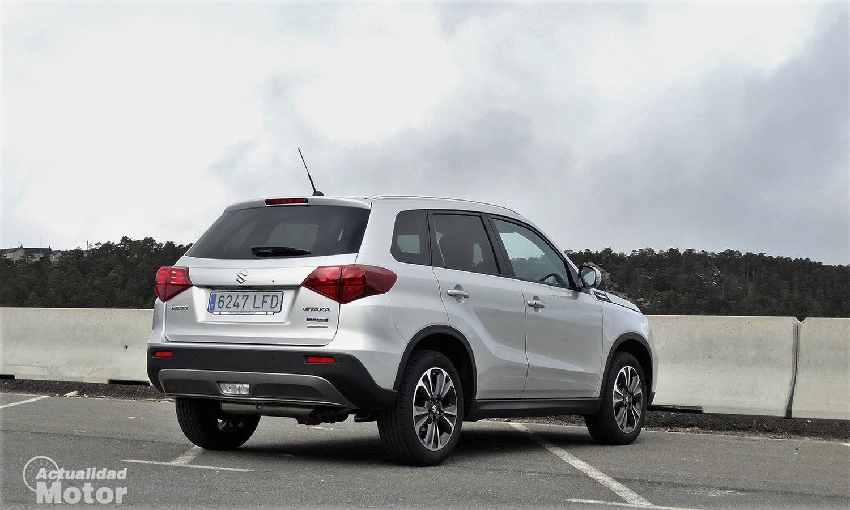 Suzuki Vitara perfil trasero